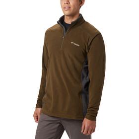 Columbia Klamath Range II Mezza zip Uomo, marrone/grigio